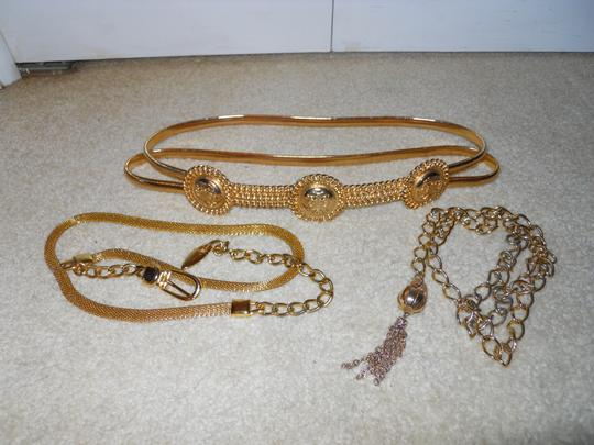 Other 3 gold chain belts