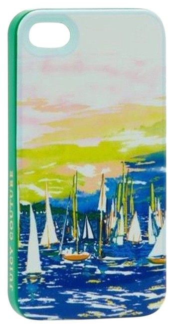 Item - Multicolor Iphone 4/4s Harbor Ships Case Cover Gift Boxed Tech Accessory