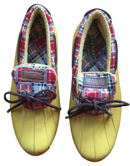 Sperry Yellow Mules