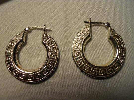 Other sterling silver pierced hoop