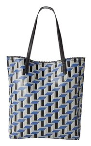 BCBGeneration Blue New Tote in Blue/Black