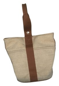 Herms Tote in Beige\brown