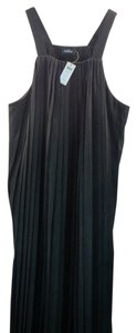 Maxi Dress by Kate Spade Saday Long Black 001 Neat Pleat Large