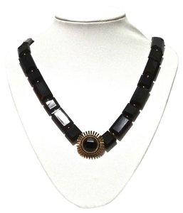 Kate Spade Kate Spade New York Black Sardinian Sun Long Necklace