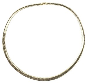 Cartier Tubogas Chain Collar Necklace