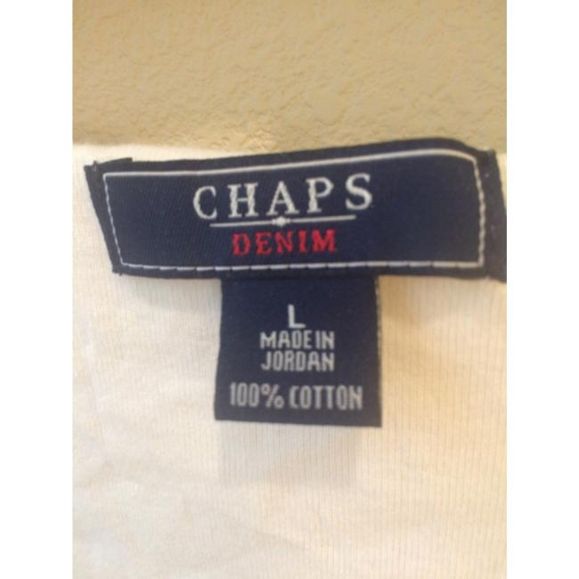 Chaps Top Off white