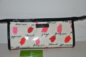 Kate Spade NWT KATE SPADE LILAC COURT EAST WEST HEDDY COSMETIC BAG CASE CLUTCH LIPSTICK