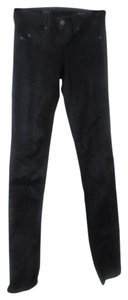 Saks Fifth Avenue Straight Leg Jeans-Coated