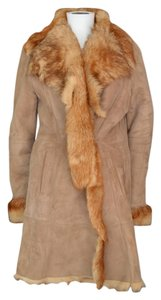 Sprung Freres Fur Shearling Sheared French Fur Coat