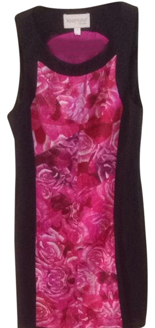 Keepsake the Label short dress Red/pink Floral on Tradesy