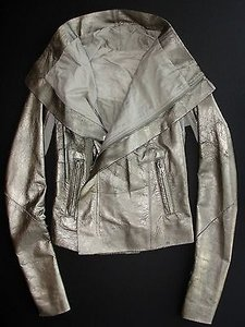 Rick Owens Distressed Gold Jacket