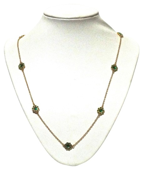 Preload https://item4.tradesy.com/images/kate-spade-kate-spade-new-york-gold-green-crystal-flower-scatter-long-necklace-5878078-0-0.jpg?width=440&height=440