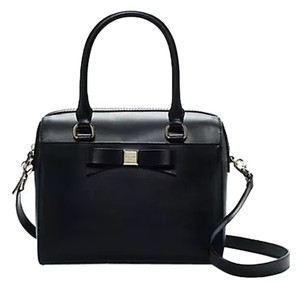 Kate Spade Black Leather Hobo Satchel