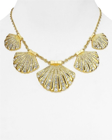 Kate Spade Beach & Resort Stunner! Kate Spade Shore Thing Necklace NWT Crystal Clam Shells Beauty!