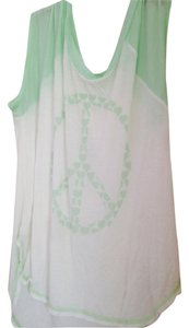 Vintage Havana Top White & light green
