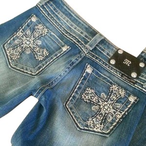 Miss Me Capri/Cropped Denim-Distressed