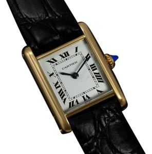 Cartier Cartier Vintage Ladies Tank Watch - Solid 18K Gold