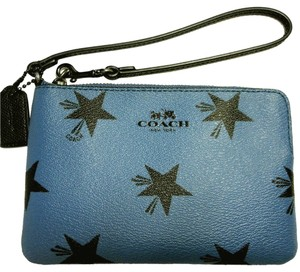 Coach Star Canyon Phone Case F64239 Star Star Wristlet in Blue