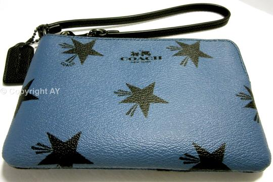 Coach Star Canyon Phone Case F64239 Star Wristlet in Blue