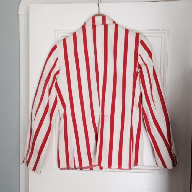 Sonia Rykiel Red/White Blazer