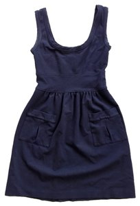 Diane von Furstenberg short dress Deep Blue on Tradesy