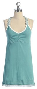 Anthropologie Razorback Hazel Racer-back Top green