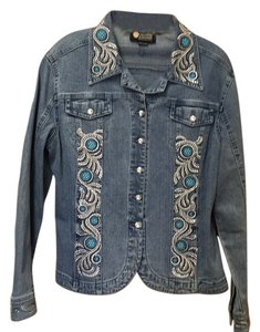 Christine Alexander Blue denim Womens Jean Jacket