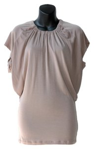 Aritzia short dress beige on Tradesy