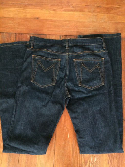 Marc Jacobs Boot Cut Jeans-Dark Rinse