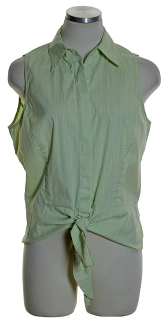 Preload https://item5.tradesy.com/images/lafayette-148-new-york-yellow-green-sleeveless-tie-front-stretch-striped-button-down-top-size-8-m-5880724-0-2.jpg?width=400&height=650