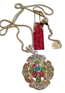 Betsey Johnson NEW!!! HOT Betsey Johnson Flower Crystal Necklace FREE SHIPPING