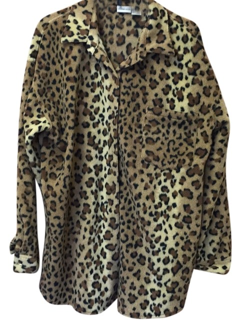 Newport News Top Leopard print