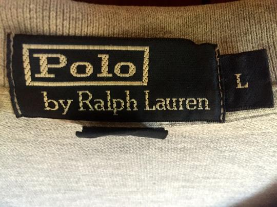 Ralph Lauren Grey Men's Polo Collared Sleeve Golf Size L Shirt