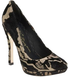Alice + Olivia Black & Bronze Pumps