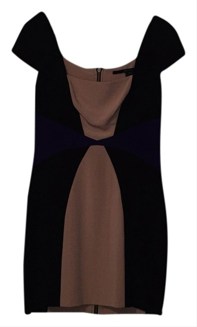 Preload https://item5.tradesy.com/images/jay-godfrey-black-nude-and-purple-knee-length-workoffice-dress-size-10-m-5882824-0-0.jpg?width=400&height=650