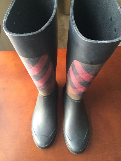 Burberry Charcoal Boots