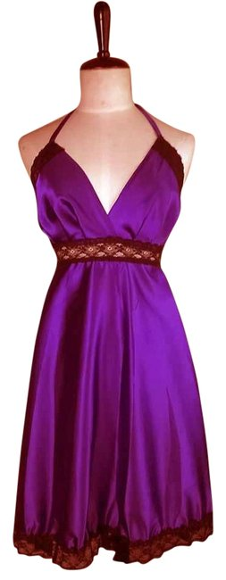 Preload https://item2.tradesy.com/images/lisa-nieves-party-prom-lace-night-short-dress-purple-black-5883151-0-0.jpg?width=400&height=650