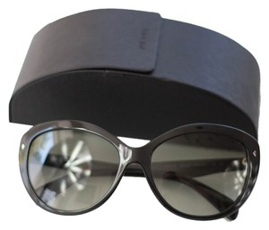 Prada Prada Cat Eye Sunglasses black