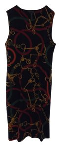 Ralph Lauren short dress Navy/multi on Tradesy