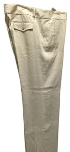 Michael Kors Trouser Pants Tan linen