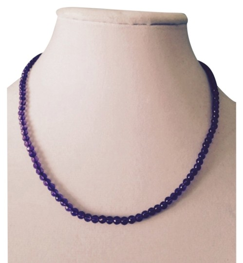 Preload https://item5.tradesy.com/images/purplesilver-necklace-5883889-0-0.jpg?width=440&height=440