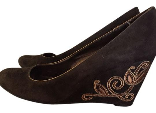 Bandolino Pumps Brown suede Wedges