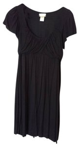 Matty M short dress Black Summer Baby Doll Waist on Tradesy