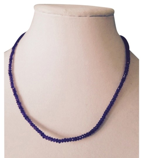 Preload https://item4.tradesy.com/images/purplesilver-necklace-5884693-0-0.jpg?width=440&height=440
