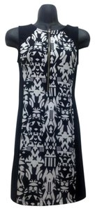Divided by H&M short dress Black/White Patterned Bodycon Fitted Sexy on Tradesy