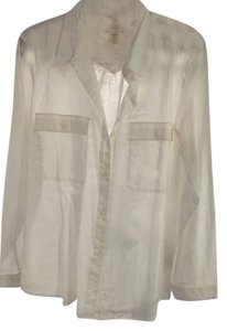 Levi's Button Down Shirt White