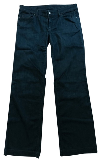 Preload https://item3.tradesy.com/images/citizens-of-humanity-dark-blue-boot-cut-jeans-size-32-8-m-5885422-0-0.jpg?width=400&height=650