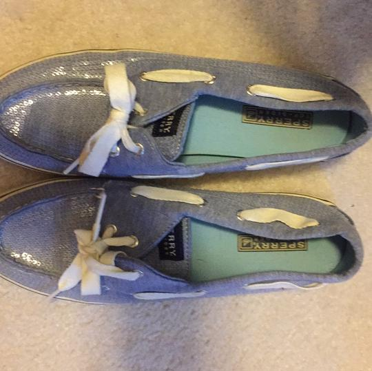 Sperry Blue Flats Image 2