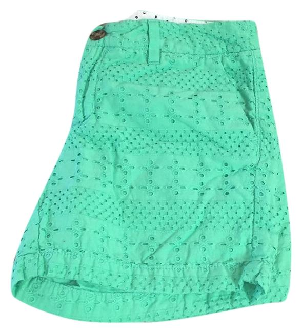Merona Cuffed Shorts Green