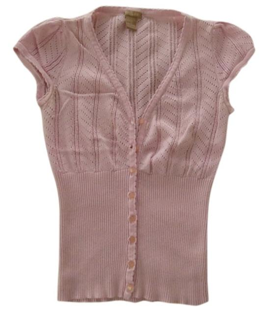 Preload https://item2.tradesy.com/images/forever-21-baby-pink-cardi-cap-sleeves-button-down-top-size-6-s-5885701-0-0.jpg?width=400&height=650